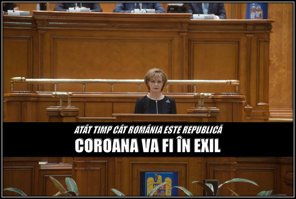 România Republică Coroana în Exil Margareta Custode.jpg