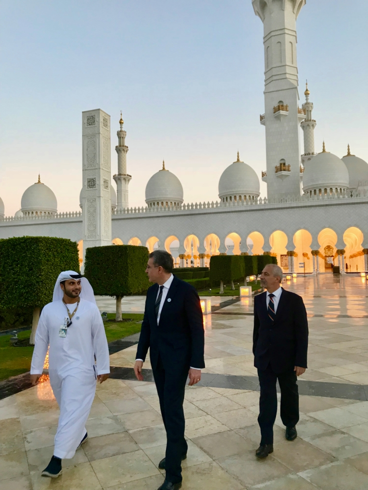 Principele Radu în Emiratele Arabe Unite 2018